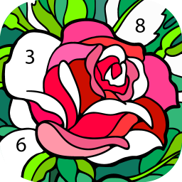 Logo Happy Color™ – Color by Number. Coloring games.