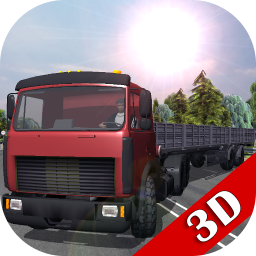 Logo Traffic Hard Truck Simulator