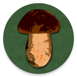 Logo Book of Mushrooms