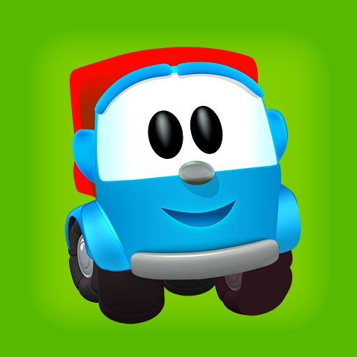 Cкачать Leo the Truck and cars: Educational toys for kids for Android