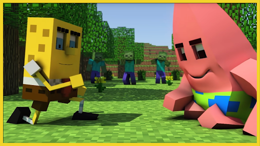 screenshot Bikini Bottom 3D Mod for MCPE.$41330