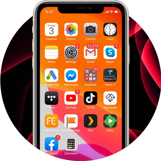 Cкачать Launcher iOS 14 for Android
