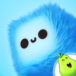 Logo Fluffy Fall: Fly Fast to Dodge the Danger