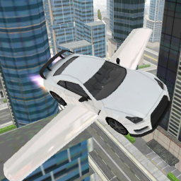 Logo Flying Car Sim