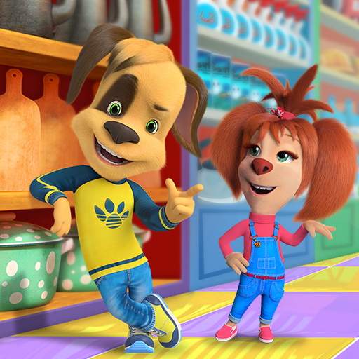 Download Pooches Supermarket: Family shopping