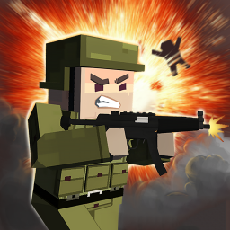 Logo Block Gun: FPS PvP War - Online Gun Shooting Games